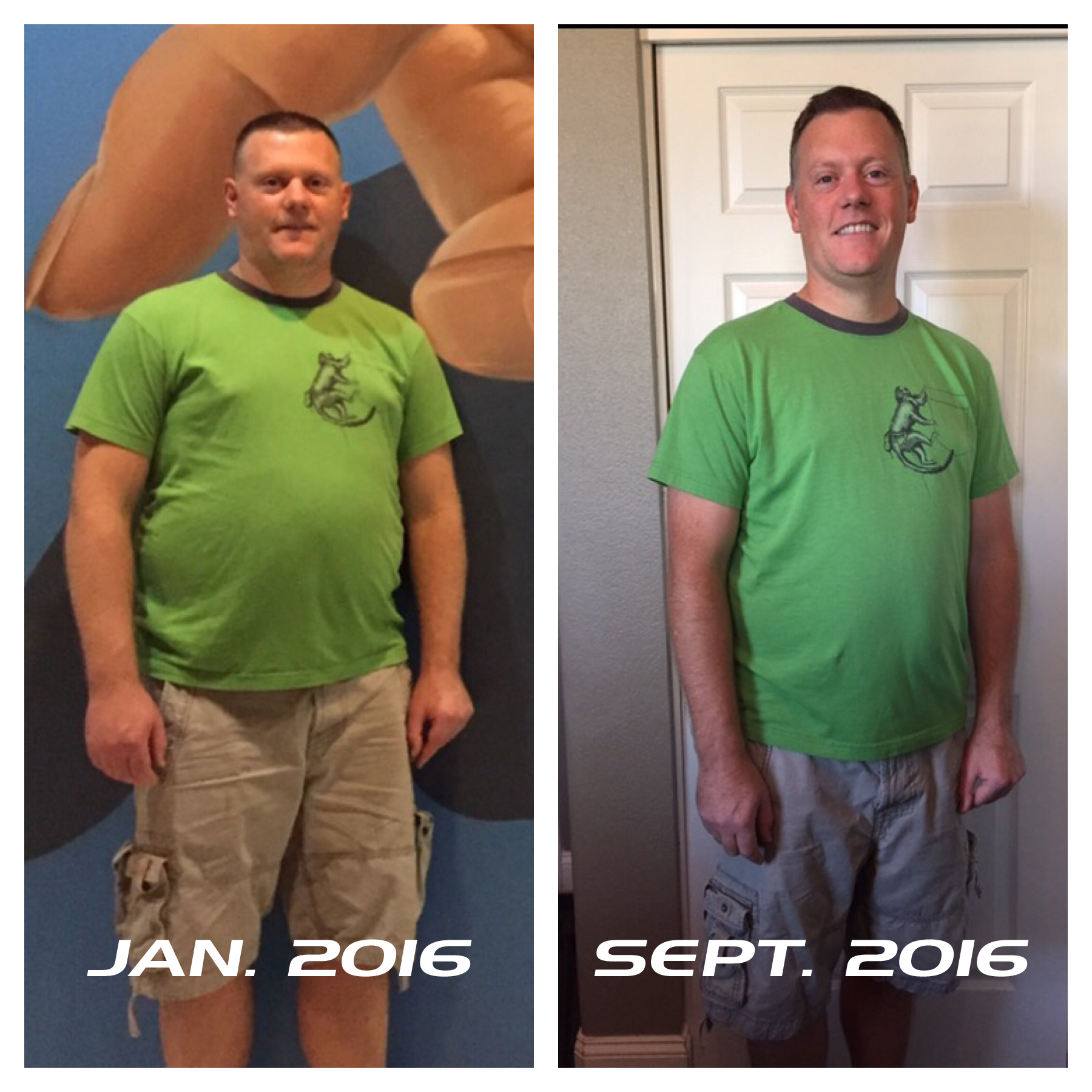transform fitness before after photo Jabe