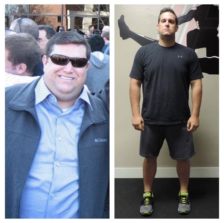 transform fitness before after photo Jeremy
