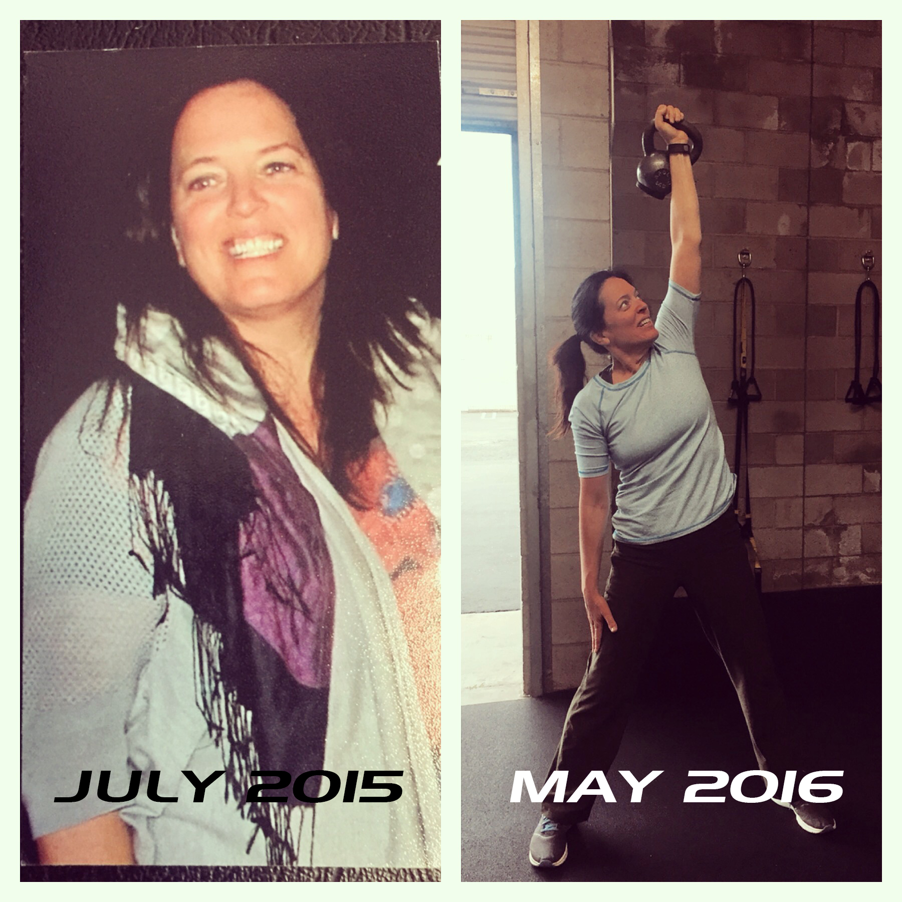 transform fitness before after photo Liz