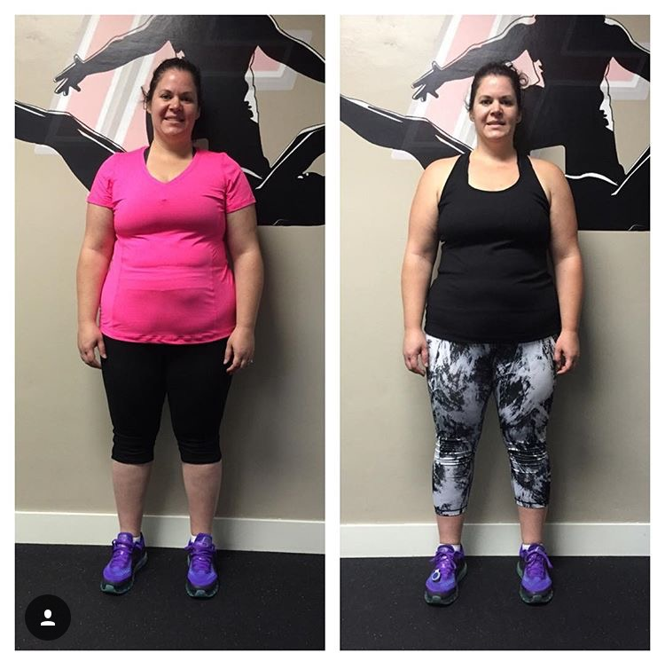 transform fitness before after photo Meghan