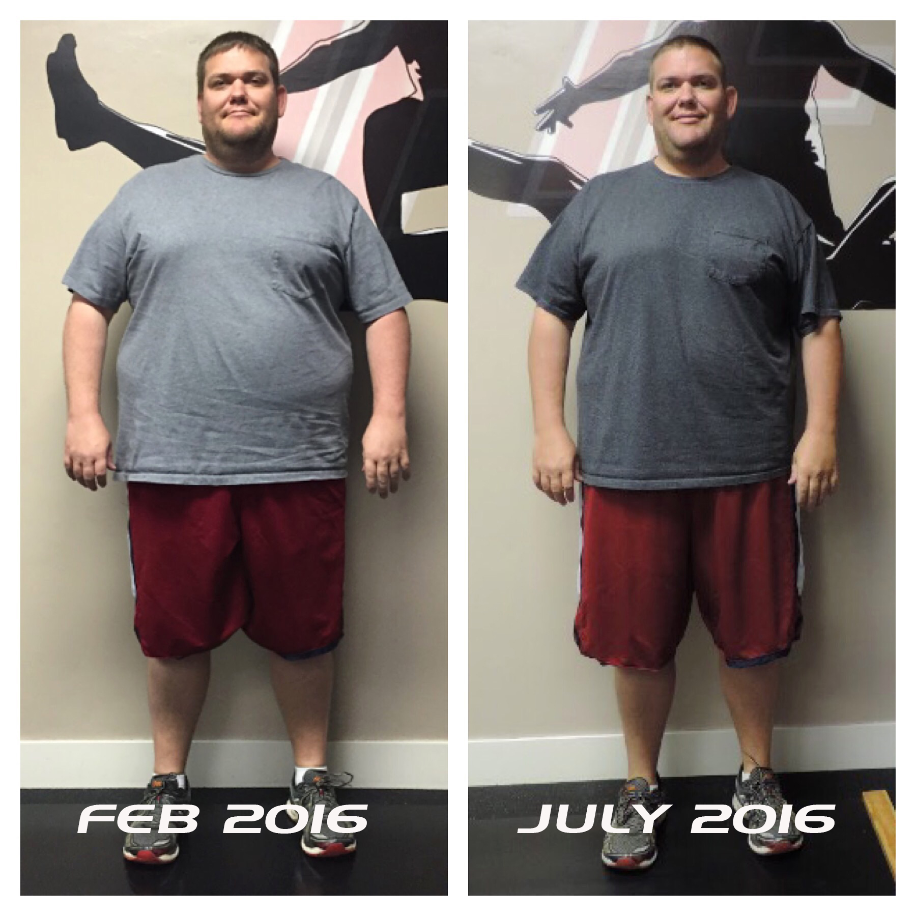transform fitness before after photo Trevor